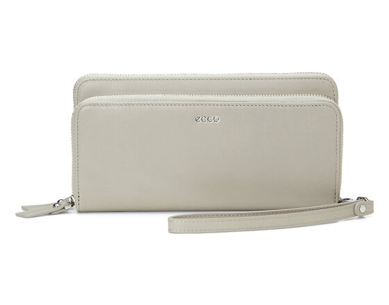 ECCO Deline Clutch Wallet (GRAVEL)