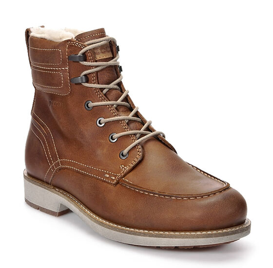 ECCO Bendix Moc Toe Boot (AMBER)