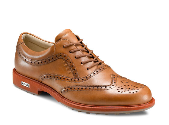 ECCO Mens Tour Hybrid Wingtip (LION/BURNT OCHRE)