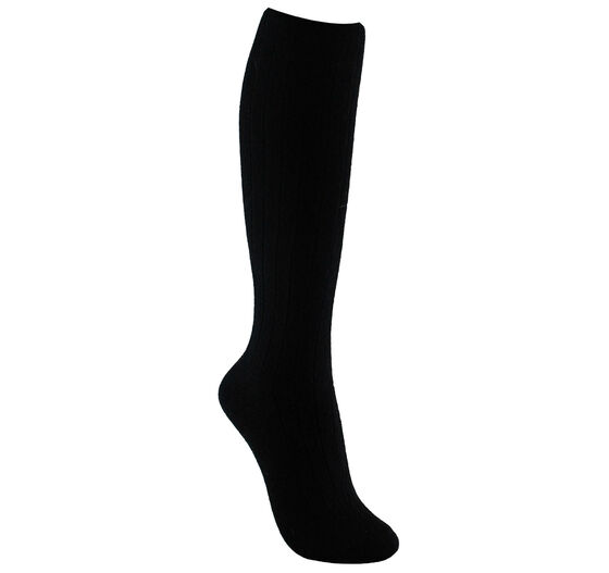 ECCO Womens Knee-High Sock (BLACK)