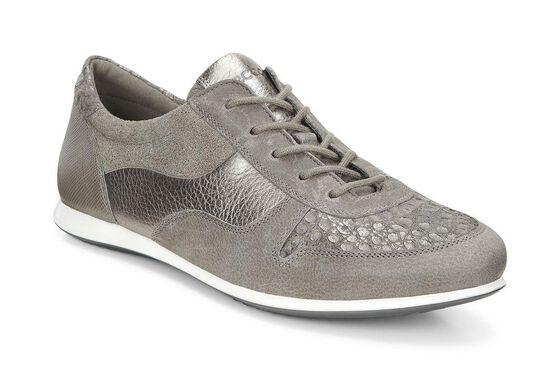 ECCO Touch Sneaker Tie (WARM GREY/WARM GREY/WARM GREY MET.)
