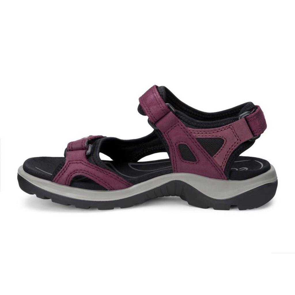 Black ecco sandals -  Ecco Womens Yucatan Sandalecco Womens Yucatan Sandal In Morillo Port Black 59277