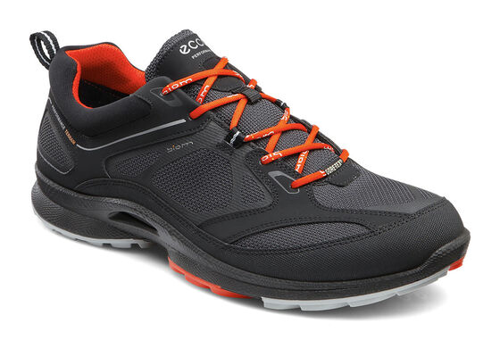 ECCO Mens BIOM Ultra Quest GTX (BLACK/MOONLESS/FIRE)