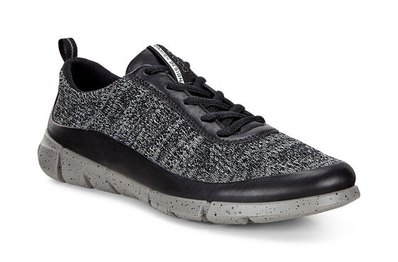 ECCO Womens Intrinsic Knit (BLACK/CONCRETE)