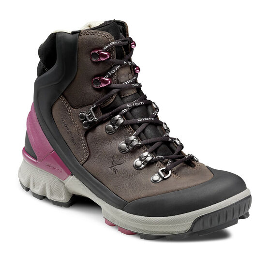 ECCO Womens BIOM Hike Hydromax (BLACK/COFFEE)