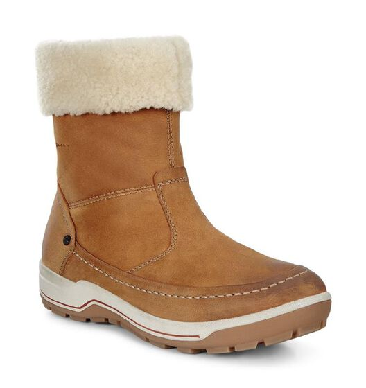 ECCO Womens Trace Boot (AMBER/SAND)