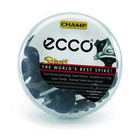 ECCO Stinger Q-Lok Spikes (20 pk) (BLACK/SILVER)