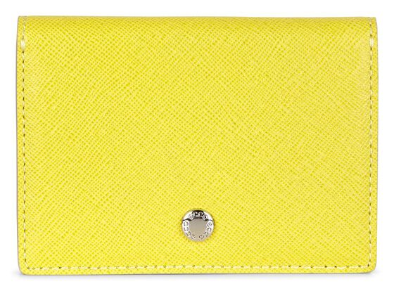 ECCO Iola Card Case (LEMON)