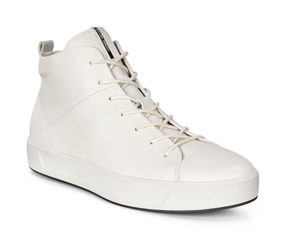 ECCO Wmns Soft 8 High Top (WHITE)