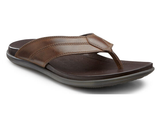 ECCO Chander Thong Sandal (COCOA BROWN)