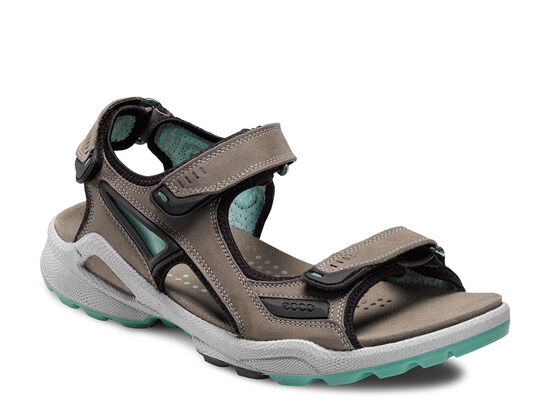 ECCO Womens BIOM Chiappo (WARM GREY/EMERALD)