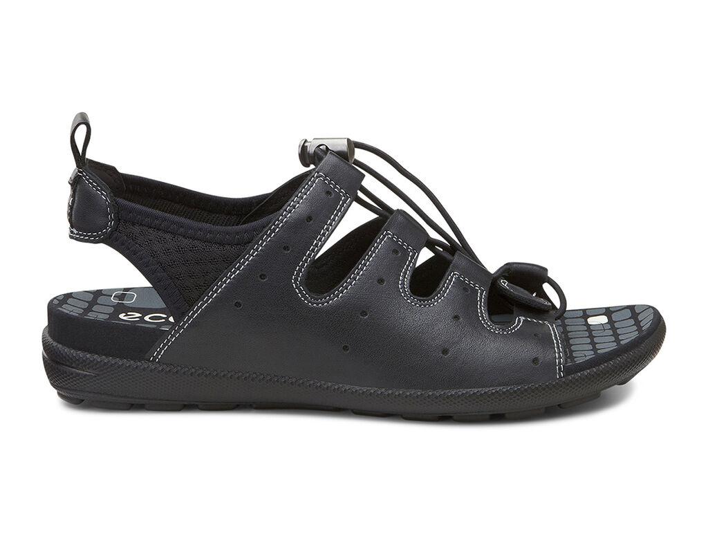 Black ecco sandals -  Ecco Jab Toggle Sandalecco Jab Toggle Sandal In Black Black 51707