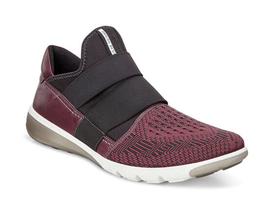 ECCO Mens Intrinsic 2 Slip On (BORDEAUX-BLACK/BORDEAUX)