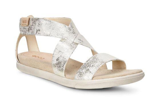 ECCO Damara Strap Sandal (GRAVEL)