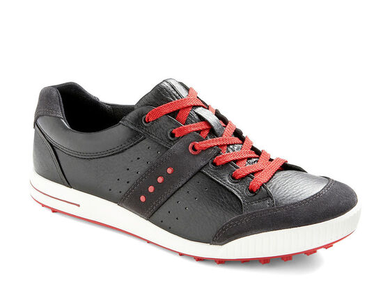 ECCO Mens Street Premiere (MOONLESS/BLACK/CHILI RED)
