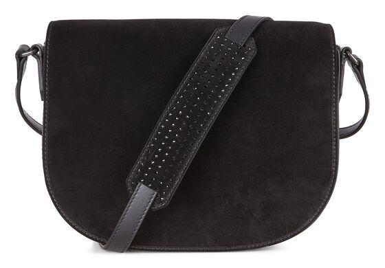 JOLIET Medium Saddle Bag (BLACK)