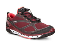 ECCO Womens BIOM Venture GTXECCO Womens BIOM Venture GTX in BLACK/PORT/CORAL BLUSH (50660)