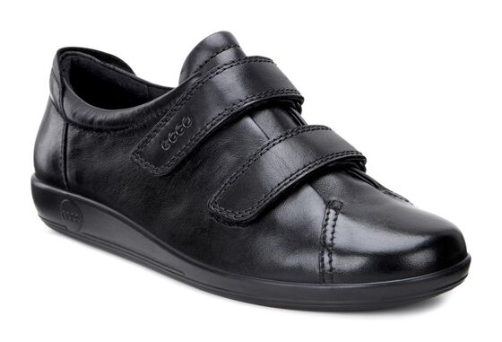 ECCO Soft 2.0 (BLACK WITH BLACK SOLE)