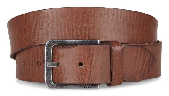 ECCO Edward Casual Belt (MAHOGANY)