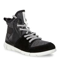 ECCO Intrinsic Kids Sneaker (BLACK/BLACK/BLACK-WHITE)
