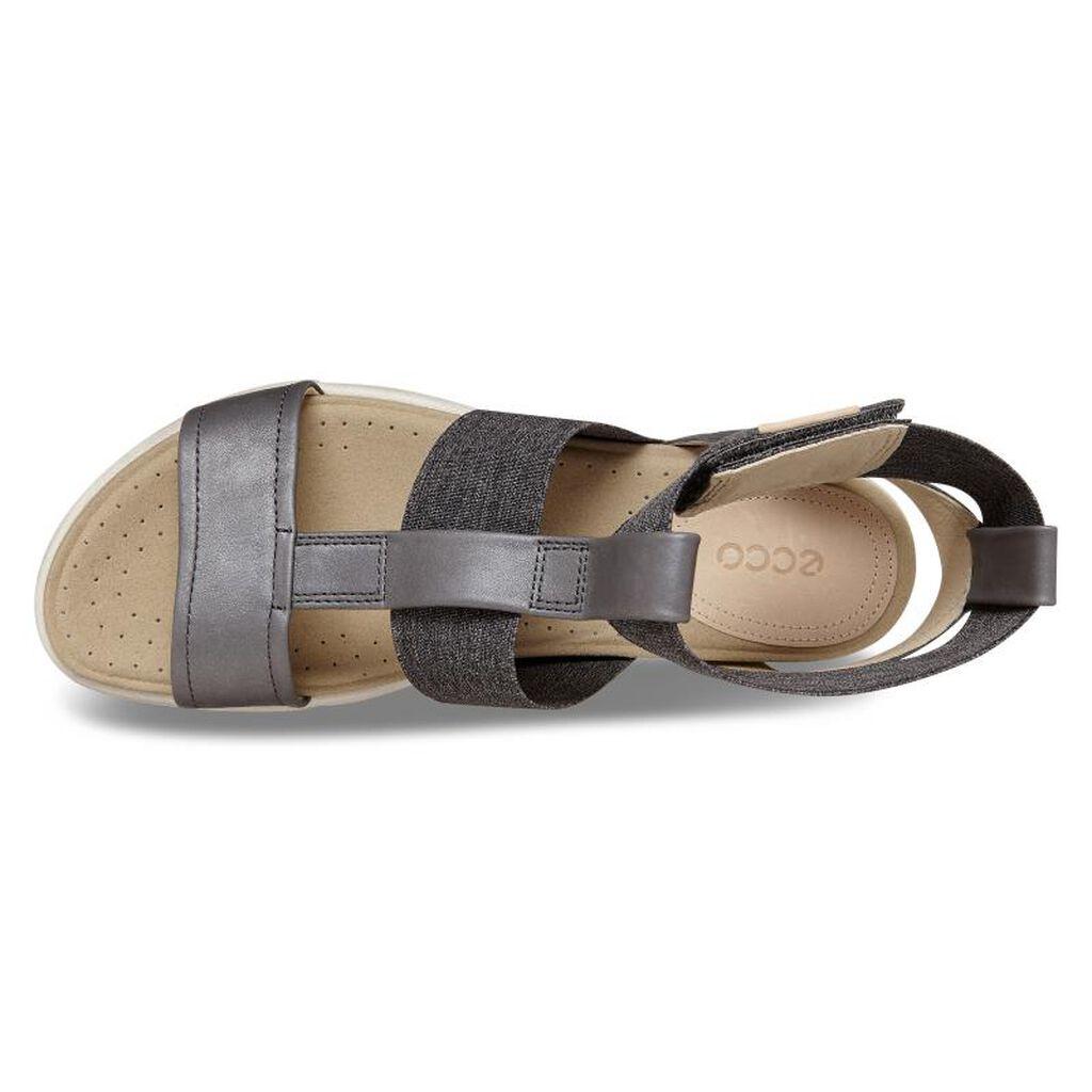 088f18ae49d ... ECCO Damara Ankle Strap SandalECCO Damara Ankle Strap Sandal in DARK  SHADOW POWDER (50456 ...