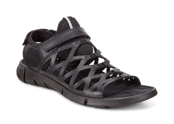 ECCO Womens Intrinsic Sandal 2 (BLACK/BLACK)