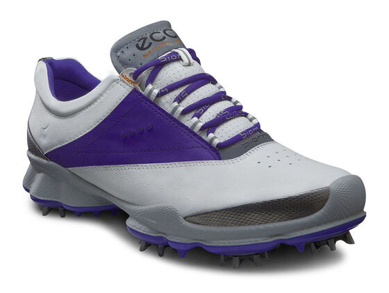 ECCO Womens BIOM Golf Lace (WHITE/IRIS)