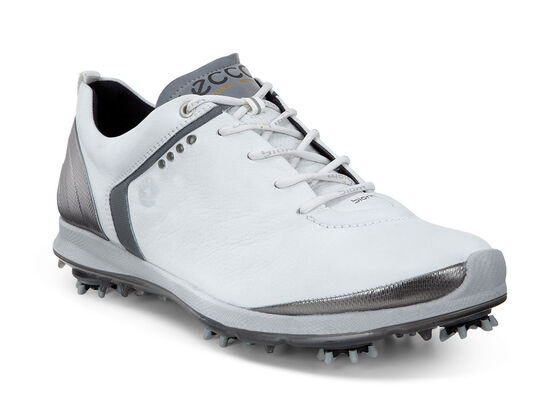 ECCO Mens BIOM G 2 GTX (WHITE/DARK SHADOW)