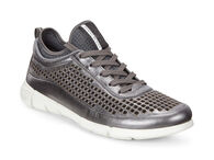 ECCO Womens Intrinsic Sneaker (DARK SHADOW METALLIC)