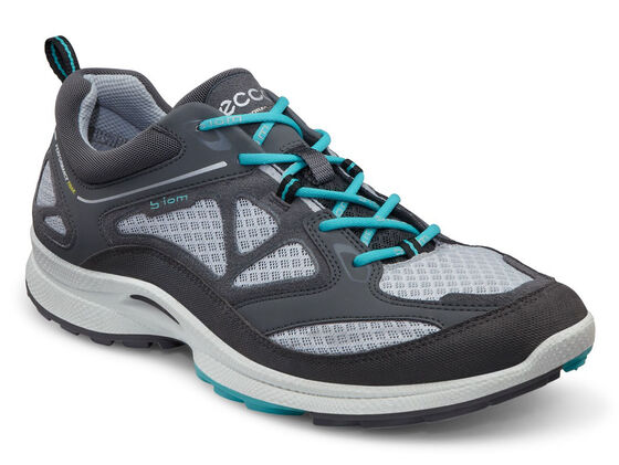 ECCO Womens BIOM Ultra Quest (DARK SHADOW/CONCRETE/TURQUOISE)
