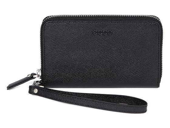 ECCO Belaga Medium Zip Wallet (BLACK)
