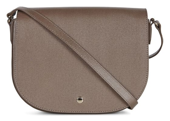 IOLA Medium Saddle Bag (DARK CLAY)