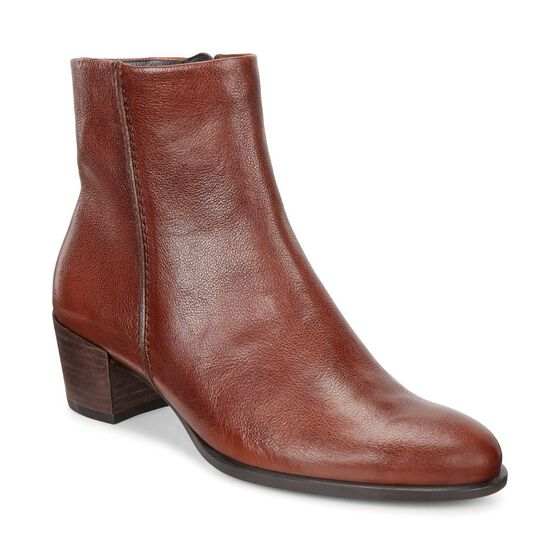 ECCO Shape 35 Ankle Boot (COGNAC)
