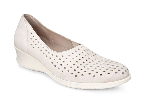 ECCO Felicia Summer Slip On (GRAVEL)
