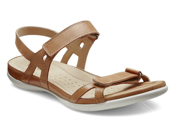 ECCO Flash Ankle Strap Sandal (LION)