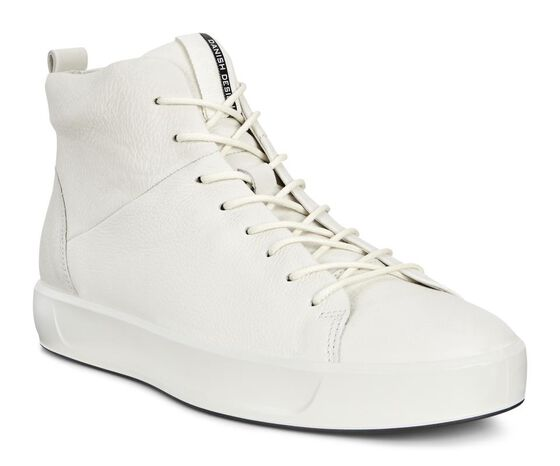 SOFT8 Mens High Top (WHITE)