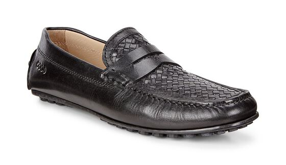 ECCO Howell Moccasin (BLACK/BLACK)