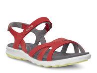 ECCO Wmns Cruise Strap Sandal (CORAL BLUSH/CORAL BLUSH/WILD DOVE)