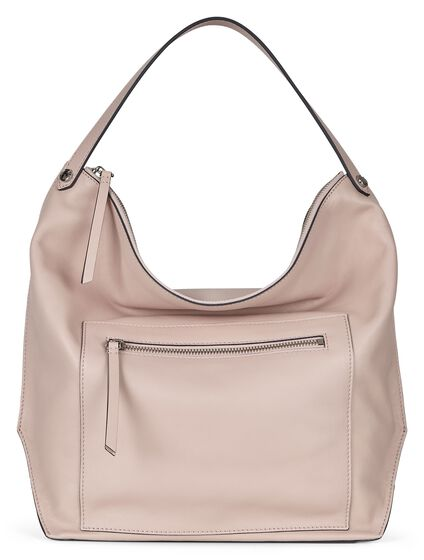 SCULPTURED Hobo Bag (ROSE DUST)