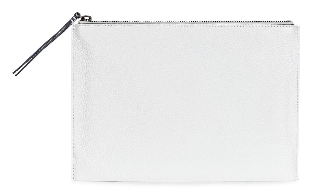 ECCO Sculptured Clutch (WHITE)