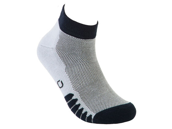ECCO Mens Anklet Mesh Top Sock (NAVY)