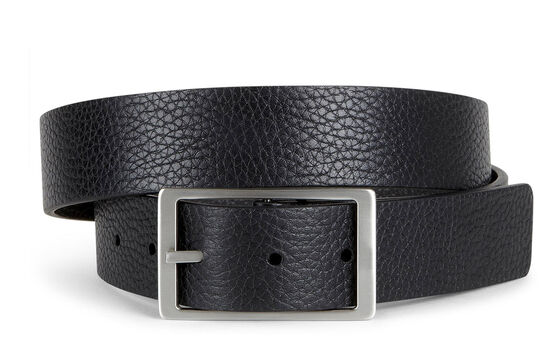 ECCO Hesa Reversible Belt (BLACK/SLATE)
