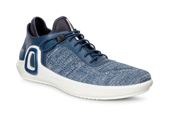 ECCO Mens Intrinsic 3 Textile (TRUE NAVY-CONCRETE/TRUE NAVY)