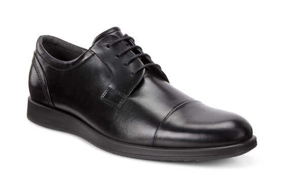 ECCO Jared Cap Toe Tie (BLACK)