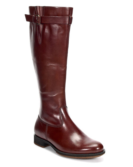 ECCO Saunter Tall Boot (COGNAC)