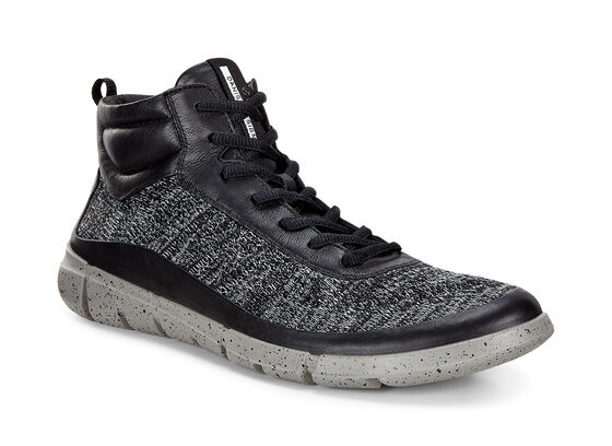 ECCO Mens Intrinsic 1 High (BLACK/CONCRETE)