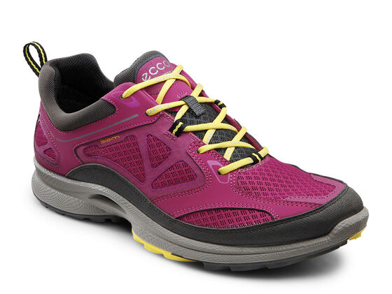 ECCO Womens BIOM Ultra Quest (DARK SHADOW/FUCHSIA/BUTTERCUP)