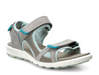 ECCO Womens Cruise Sandal (WARM GREY/WARM GREY/ICE FLOWER)
