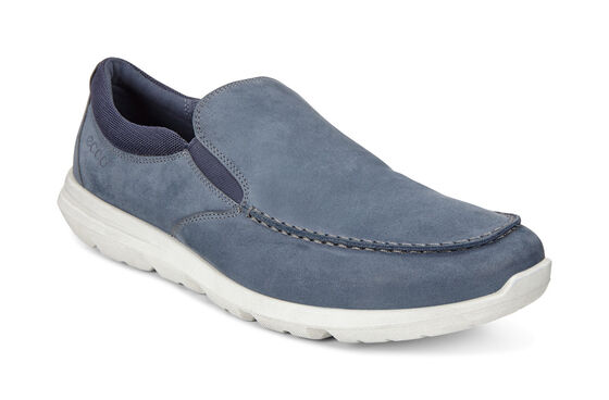ECCO Mens Calgary Slip On (MARINE)