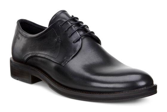 ECCO Henley Plain Toe (BLACK)